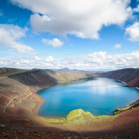 Lake of Landmannalaugar