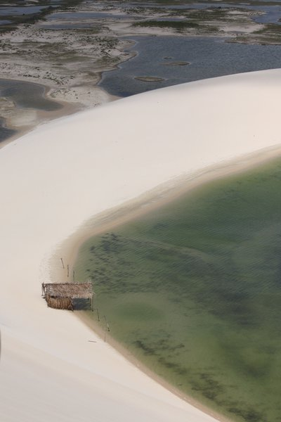 Lagoons and white sweeping dunes - Lençóis Maranhenses National Park (Brasil)