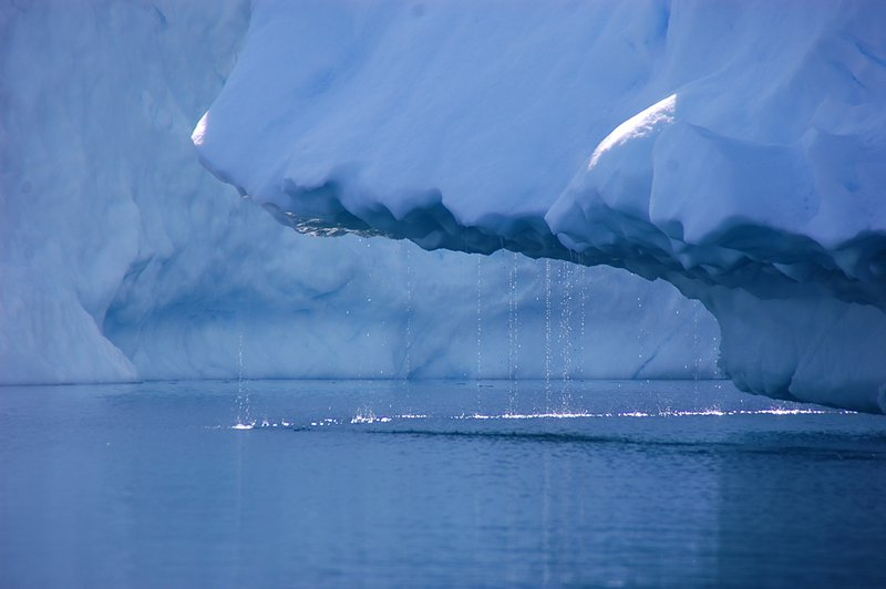 Greenland ice sheets are melting