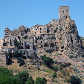 Craco: ghost village in Southern Italy
