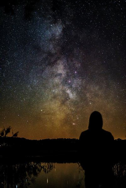 There is never enough time to count all the stars that you want.