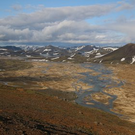 Active rivers: the braidplains of Landmannalaugar