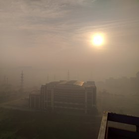 Smog in New Delhi, India