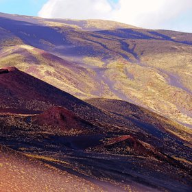 Lights and shadows of Mount Etna