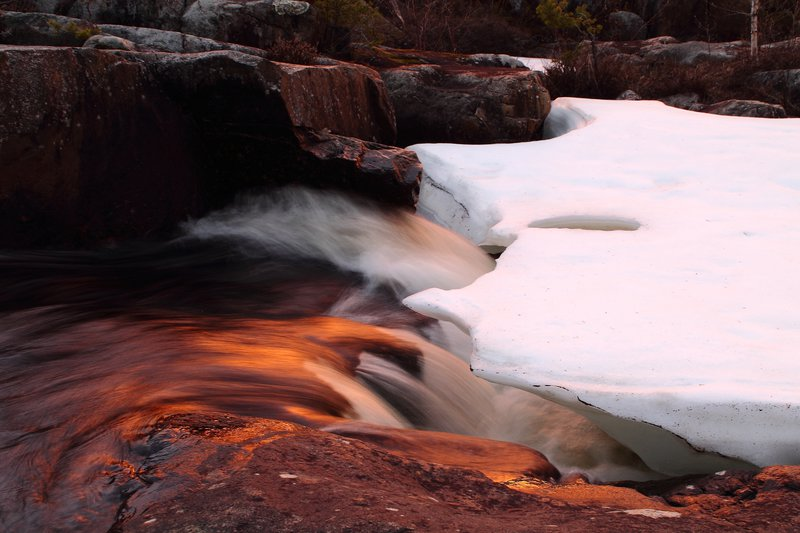 Symbiosis of fire, ice and water