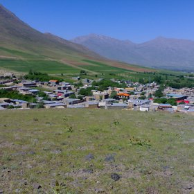 Iranian village in spring