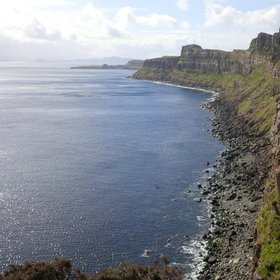 Isle of Skye cliff coast