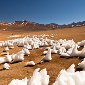 Penitentes in the Andes