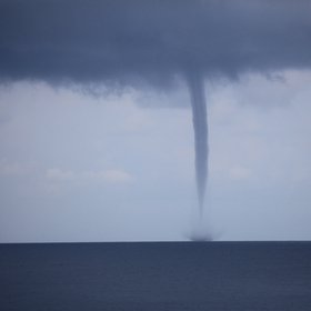 Tornado in the Java Sea