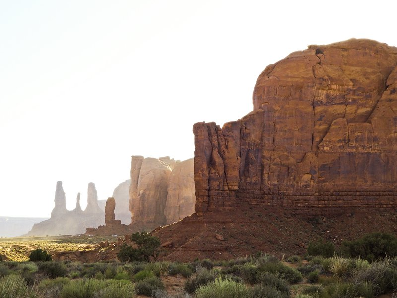 Shadows of the past (Monument Valley)