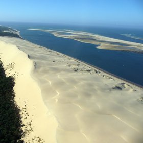 aerial view of the Dune du Pilat