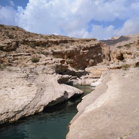 Discover Water in the desert of Oman