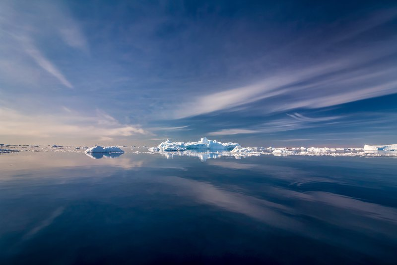 On the way back from Antarctica