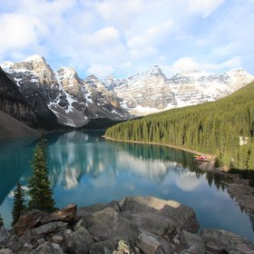 The heart of the Canadian Rocky Mountains