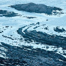 Stone roads of the Barents Sea