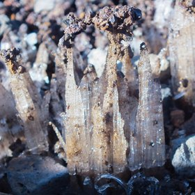 Ice Towers in La Palma