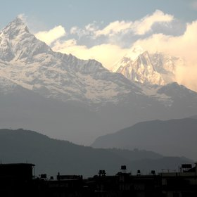 Machapuchare and the Annapurna Massif