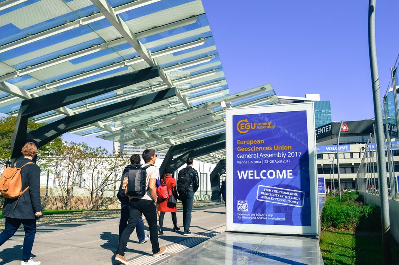 EGU17 - Welcome Sign Walkway