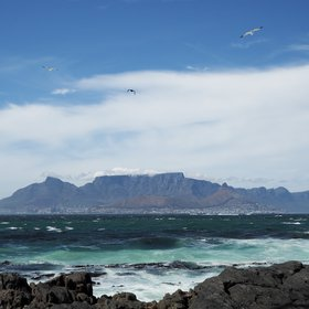 Table Mountain: with the eyes of first discoverers