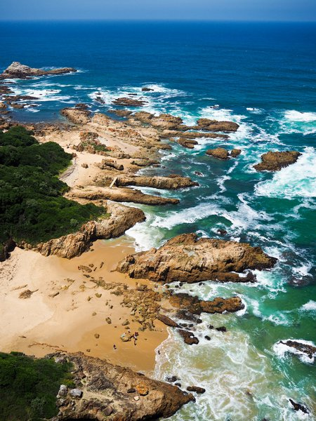 Knysna Heads: a view from above
