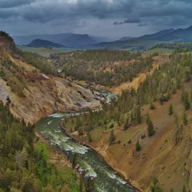 Yellowstone River Storm