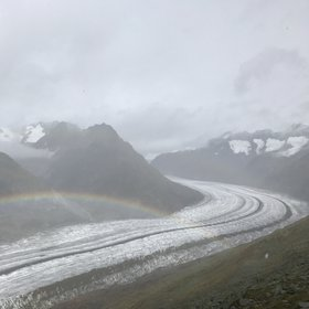 Colours of Aletsch Glacier