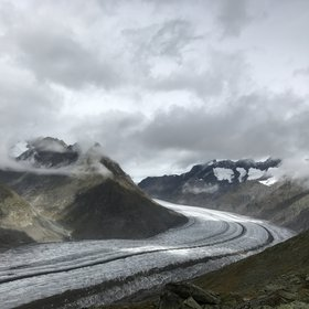 Charm of Aletsch Glacier