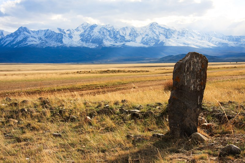 The ancient guard of Altai