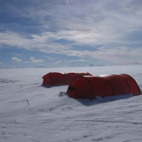 Camping in the katabatic winds