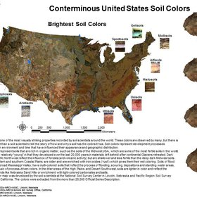 Soil Colors of United States