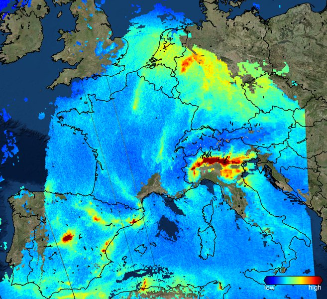 A new view on air quality from space