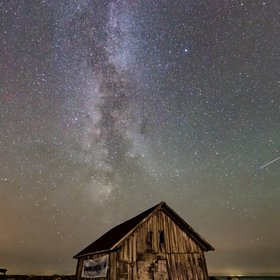 The Milky way over the West coast of Sweden