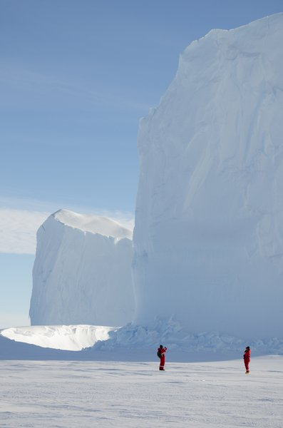 Proportions of a frozen giant