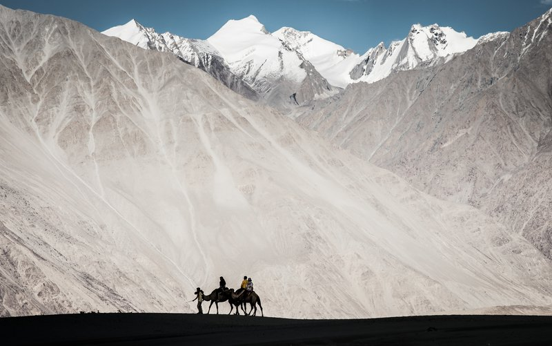 Tremendous scenery on a grand scale of Nubra valley