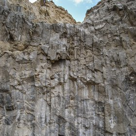 Vertical salt layers, Mount Sodom