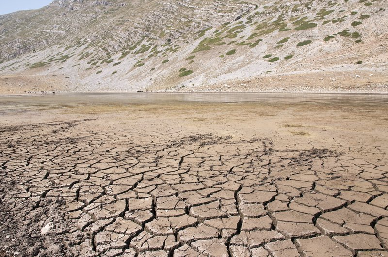 Dryness of the last Mediterranea summer