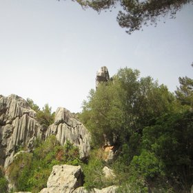 Karstic modeling by Pere Crespi. Mallorca.