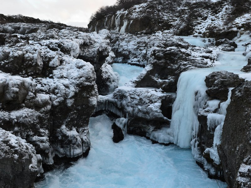 The Frozen Waterfall