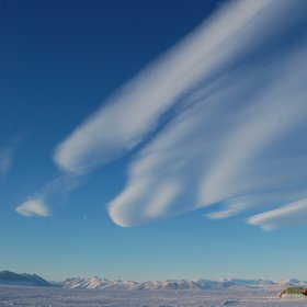 3 am Lenticulars over sea ice camp