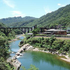 Houtong, a small village in the northern Taiwan