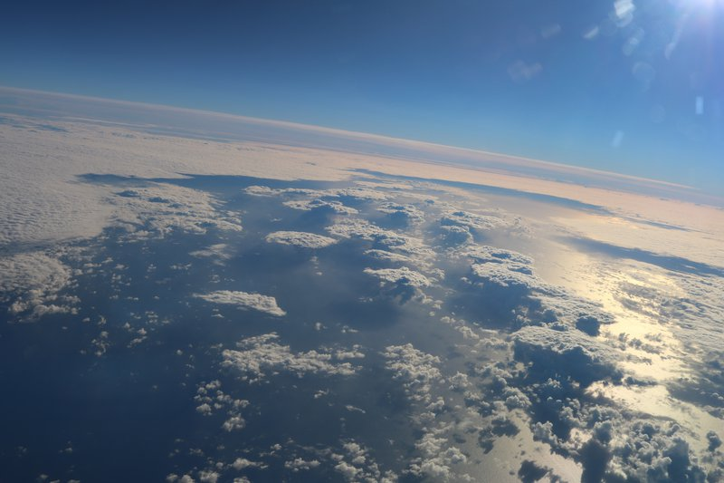 Clouds over the North Atlantic