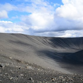 Hverfjall (volcanic crater Iceland)