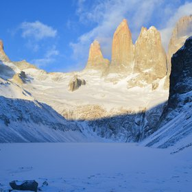 Torres del Paine in southern Chile