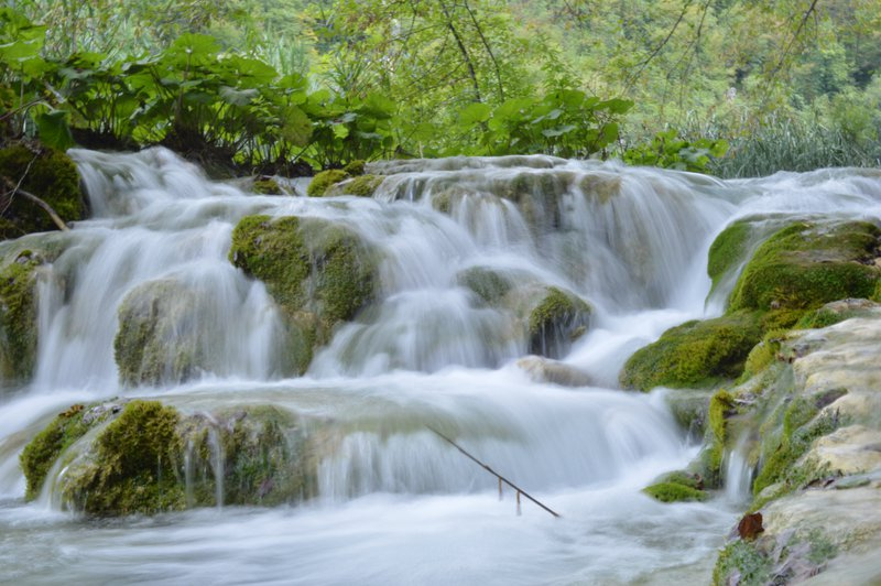 Waterfall at Plitvice National Park
