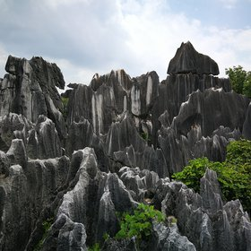 Stone forest in Yunan