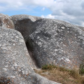 Worn-Out Granite Outcrop