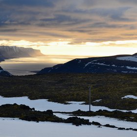 Somewhere over the Westfjords