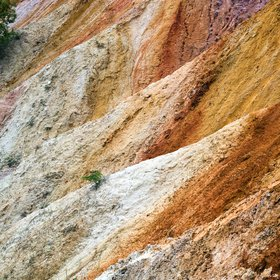 Coloured sediments of Rudice beds