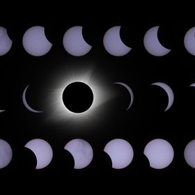 Phases of the 2017 Solar Eclipse