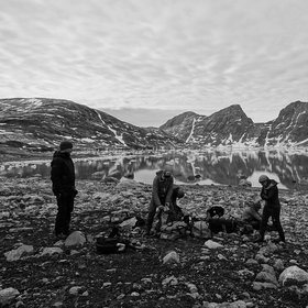 Wondering in Watkins Fjord, East Greenland